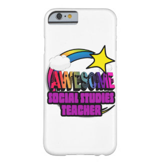 Shooting Star  Awesome Social Studies Teacher Barely There iPhone 6 Case
