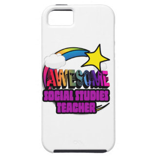 Shooting Star  Awesome Social Studies Teacher iPhone 5 Cases