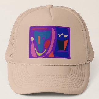 Shooting Star Blue Trucker Hat