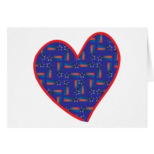 Shooting-Star-Heart Greeting Card