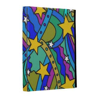 Shooting Star Hippie Pattern iPad Case