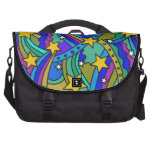Shooting Star Hippie Pattern Commuter Bags