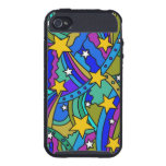 Shooting Star Hippie Pattern iPhone 4/4S Cover