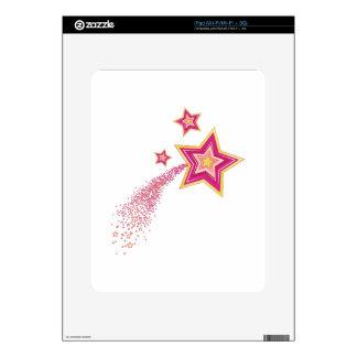 Shooting Star iPad Decals