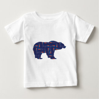 Shooting-Star-Mama-Grizzlie Baby T-Shirt