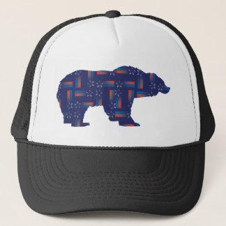 Shooting-Star-Mama-Grizzlie Trucker Hat