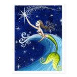 Shooting Star Mermaid Postcards