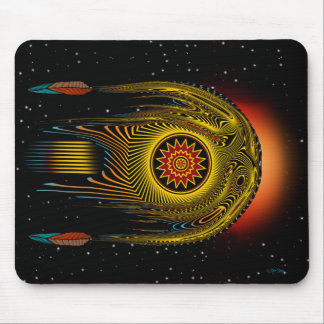 Shooting Star Mouse Pads