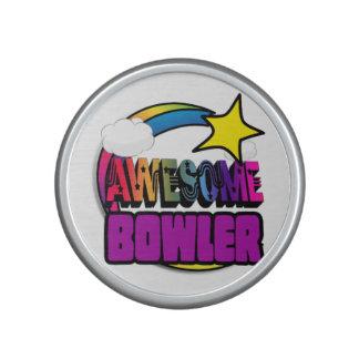 Shooting Star Rainbow Awesome Bowler Bluetooth Speaker