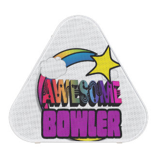 Shooting Star Rainbow Awesome Bowler Speaker