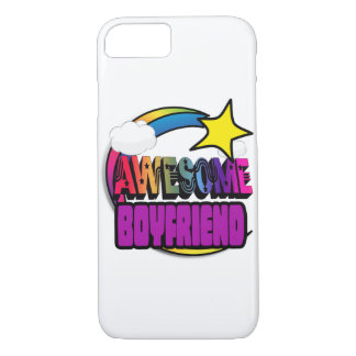 Shooting Star Rainbow Awesome Boyfriend iPhone 7 Case