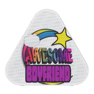 Shooting Star Rainbow Awesome Boyfriend Speaker