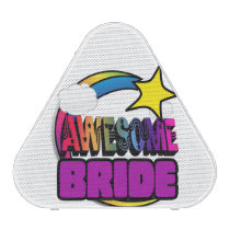 Shooting Star Rainbow Awesome Bride Speaker