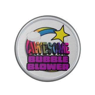 Shooting Star Rainbow Awesome Bubble Blower Speaker