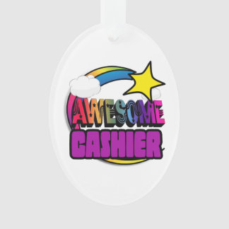 Shooting Star Rainbow Awesome Cashier