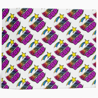 Shooting Star Rainbow Awesome Cop Binder