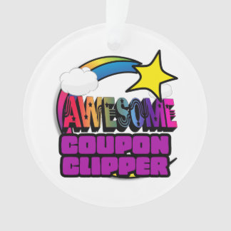 Shooting Star Rainbow Awesome Coupon Clipper
