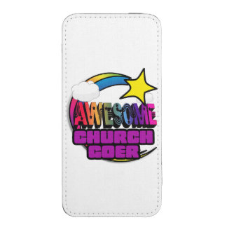 Shooting Star Rainbow Awesome Curch Goer iPhone 5 Pouch