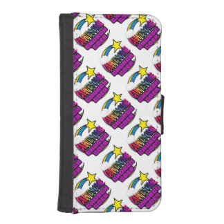 Shooting Star Rainbow Awesome Curch Goer iPhone 5 Wallet Case