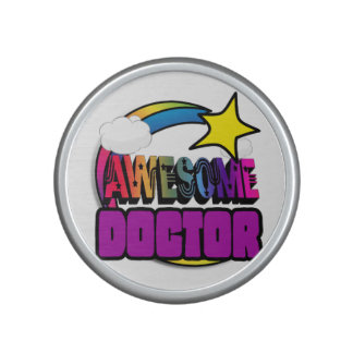 Shooting Star Rainbow Awesome Doctor Speaker