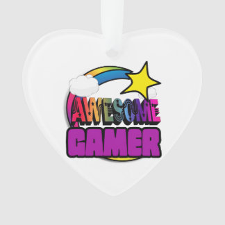 Shooting Star Rainbow Awesome Gamer