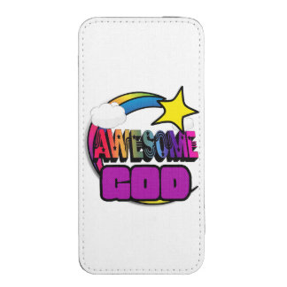 Shooting Star Rainbow Awesome God iPhone 5 Pouch