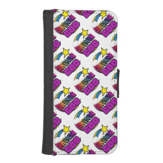 Shooting Star Rainbow Awesome God Phone Wallet Case