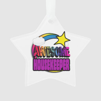 Shooting Star Rainbow Awesome Housekeeper