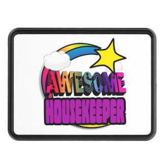 Shooting Star Rainbow Awesome Housekeeper Trailer Hitch Covers