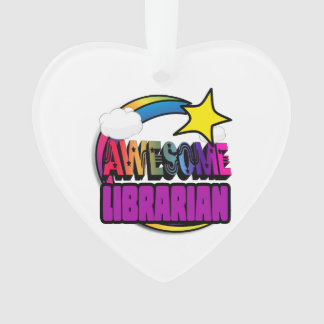 Shooting Star Rainbow Awesome Librarian