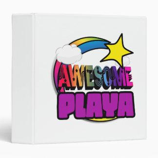 Shooting Star Rainbow Awesome Playa 3 Ring Binder