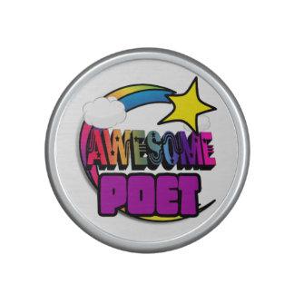 Shooting Star Rainbow Awesome Poet Speaker