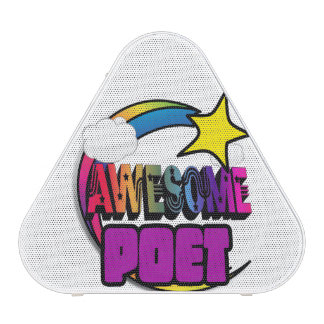 Shooting Star Rainbow Awesome Poet Bluetooth Speaker