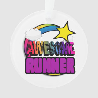 Shooting Star Rainbow Awesome Runner