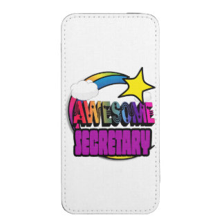 Shooting Star Rainbow Awesome Secretary iPhone 5 Pouch