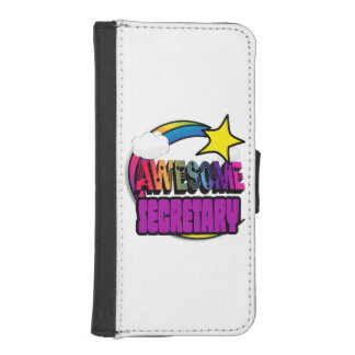 Shooting Star Rainbow Awesome Secretary Phone Wallets