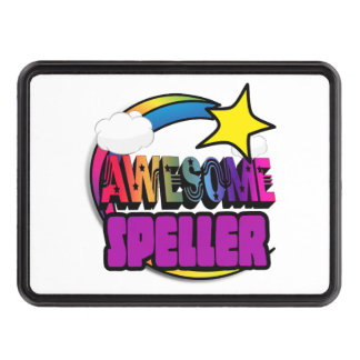 Shooting Star Rainbow Awesome Speller Trailer Hitch Covers