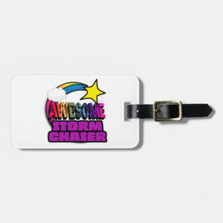 Shooting Star Rainbow Awesome Storm Chaser Tag For Bags