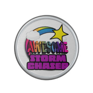 Shooting Star Rainbow Awesome Storm Chaser Speaker