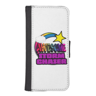 Shooting Star Rainbow Awesome Storm Chaser iPhone 5 Wallet Cases