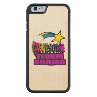 Shooting Star Rainbow Awesome Storm Chaser Carved® Maple iPhone 6 Bumper