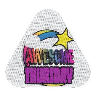Shooting Star Rainbow Awesome Thursday Speaker
