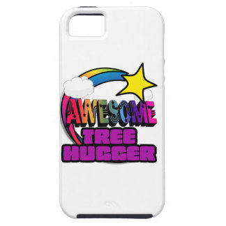 Shooting Star Rainbow Awesome Tree Hugger iPhone 5 Case
