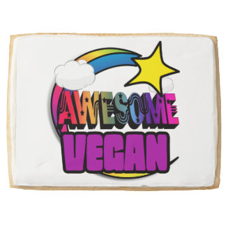 Shooting Star Rainbow Awesome Vegan Jumbo Cookie