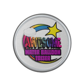 Shooting Star Rainbow Awesome Water Balloon Tosser Speaker