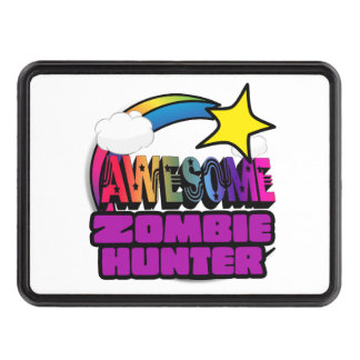Shooting Star Rainbow Awesome Zombie Hunter Hitch Covers