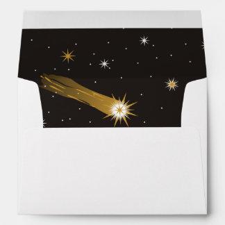 Shooting Star Romantic Wedding Envelopes
