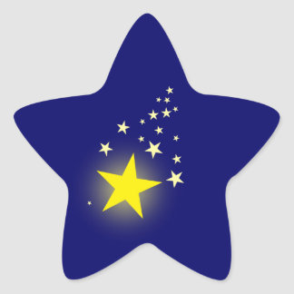 Shooting Star Star Sticker