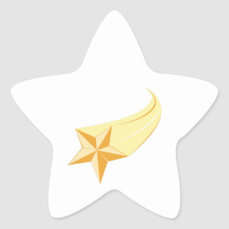 Shooting Star Star Sticker