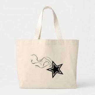 Shooting Star tote Jumbo Tote Bag